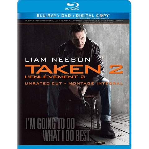 Taken 2 - Unrated Cut [Blu-Ray + DVD + Digital]