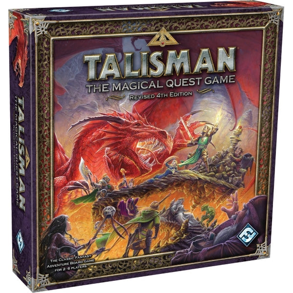 Talisman: The Magical Quest Game - Revised 4th Edition [Board Game, 2-6 Players]