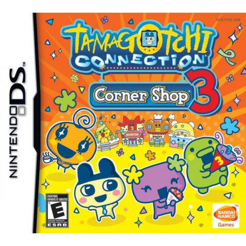 Tamagotchi Connection: Corner Shop 3 [Nintendo DS DSi]