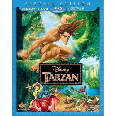 Disney's Tarzan - Special Edition [Blu-Ray + DVD + Digital]