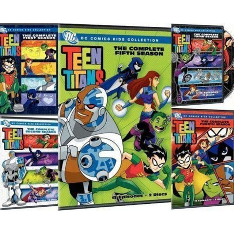 Teen Titans - The Complete Seasons 1-5 [DVD Box Set]
