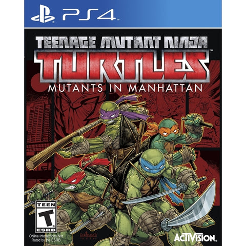 Teenage Mutant Ninja Turtles: Mutants in Manhattan [PlayStation 4]