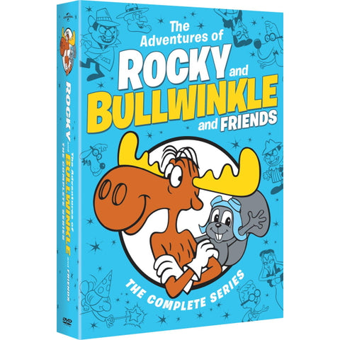 The Adventures of Rocky and Bullwinkle and Friends: The Complete Series - Seasons 1-5 [DVD Box Set]