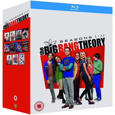 The Big Bang Theory: Seasons 1-11 [Blu-Ray Box Set]