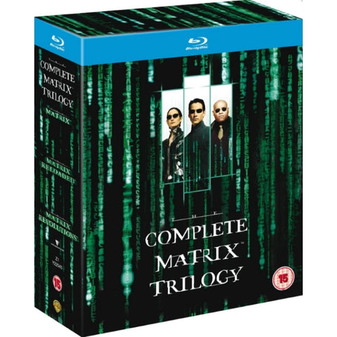 Complete Matrix Trilogy [Blu-Ray Box Set]