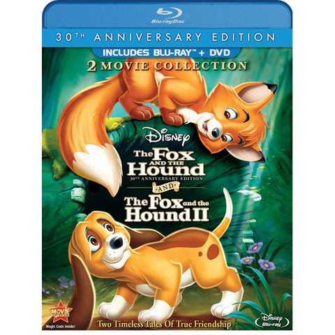 Disney's The Fox and the Hound + The Fox and the Hound 2 - 30th Anniversary Edition [Blu-Ray + DVD 2-Movie Collection]