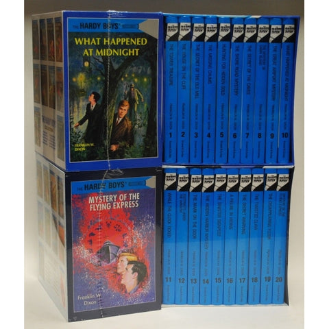 The Hardy Boys Mystery Collection - Volume 1-20 [20 Hardcover Book Set]