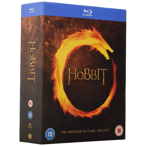 The Hobbit: The Motion Picture Trilogy [Blu-Ray Box Set]