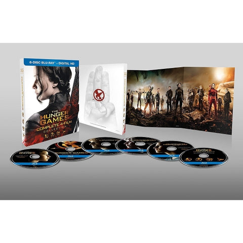 The Hunger Games - Complete 4-Film Collection [Blu-Ray + Digital Box Set]