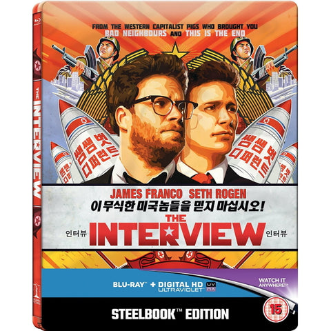 The Interview - Limited Edition Collectible SteelBook [Blu-Ray]
