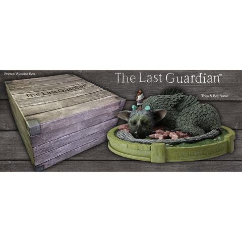The Last Guardian: Trico & Boy Statue [Toys, Ages 3+]