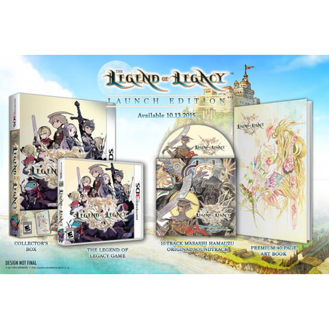 Legend of Legacy - Launch Edition [Nintendo 3DS]