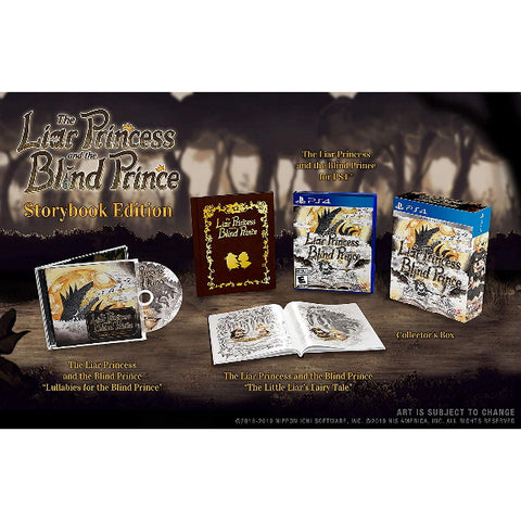 The Liar Bride and the Blind Prince - Storybook Edition [PlayStation 4]
