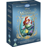 The Little Mermaid 3-Movie Collection [Blu-Ray Box Set]