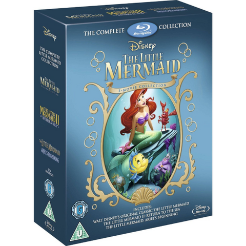 Disney's The Little Mermaid 3-Movie Collection [Blu-Ray Box Set]