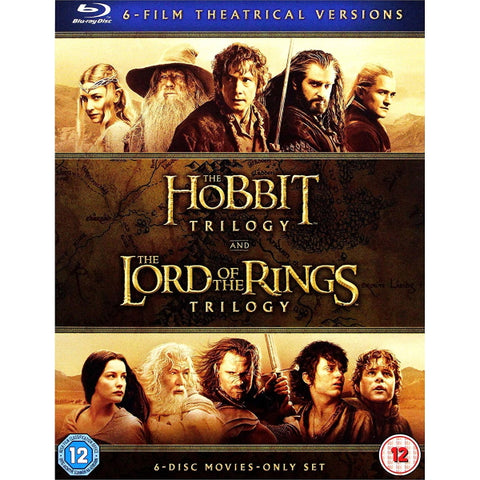 The Middle-Earth 6-Film Theatrical Collection [Blu-Ray Box Set]