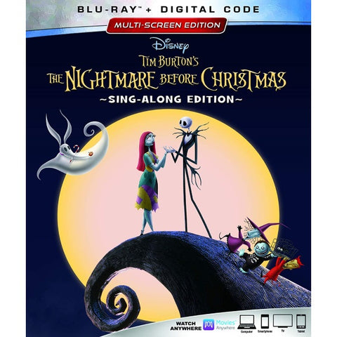 Disney's The Nightmare Before Christmas - Sing-Along Edition [Blu-Ray + Digital]