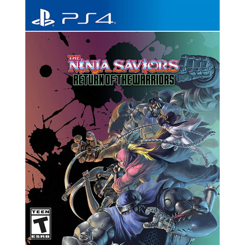 The Ninja Saviors: Return of the Warriors [PlayStation 4]