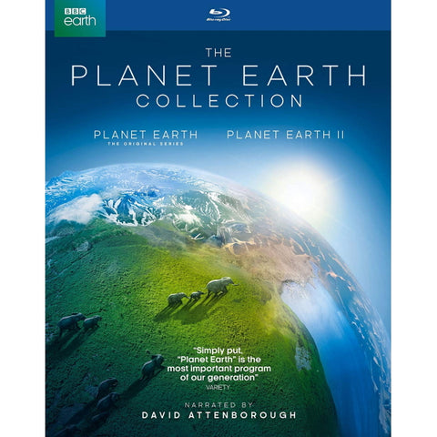 The Planet Earth Collection I & II Giftset [Blu-Ray Box Set]