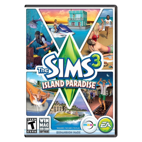 The Sims 3: Island Paradise Expansion Pack [Mac & PC]