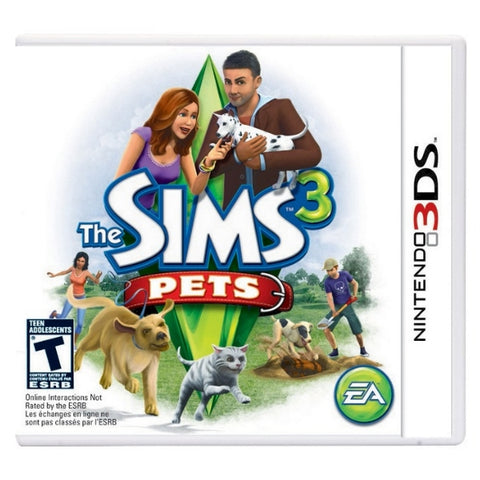 The Sims 3: Pets [Nintendo 3DS]