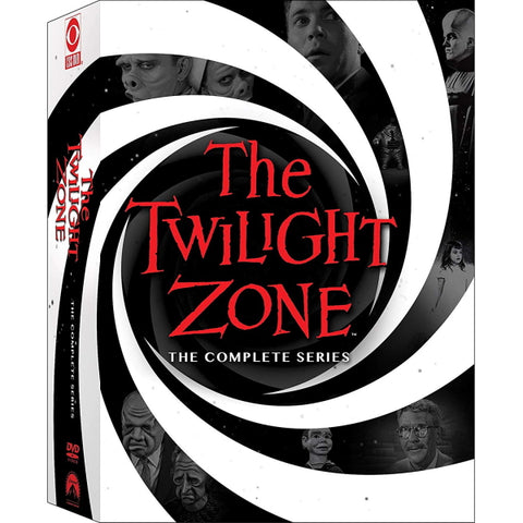 The Twilight Zone: The Complete Series - Seasons 1-5 [DVD Box Set]