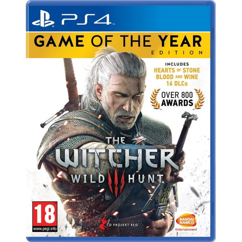 The Witcher 3: Wild Hunt - Game of the Year Edition [PlayStation 4]