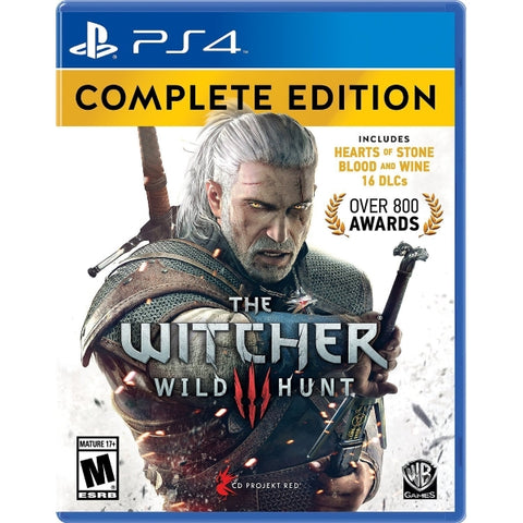 The Witcher 3: Wild Hunt - Complete Edition [PlayStation 4]