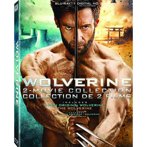 Wolverine 2-Movie Collection [Blu-Ray + Digital 2-Movie Collection]