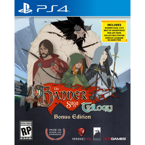 Banner Saga Trilogy: Bonus Edition [PlayStation 4]