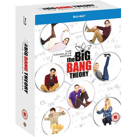 The Big Bang Theory: The Complete Series - Seasons 1-12 [Blu-Ray Box Set]