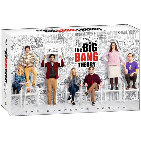The Big Bang Theory: The Complete Series - Limited Edition - Seasons 1-12 [Blu-Ray Box Set + Digital]
