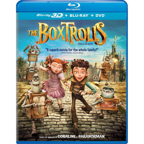 The Boxtrolls [3D + 2D Blu-ray + DVD]
