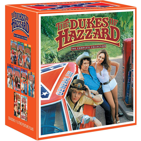 The Dukes of Hazzard: The Complete Collection - General Lee Confederate Flag Box [Collectible]