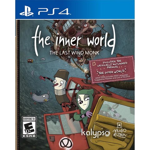 The Inner World: The Last Wind Monk [PlayStation 4]