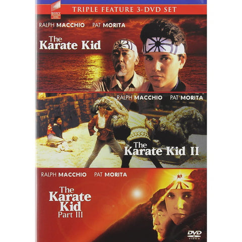 The Karate Kid Triple Feature [DVD Box Set]