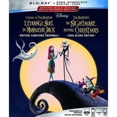 Disney's The Nightmare Before Christmas [Blu-ray + Digital]