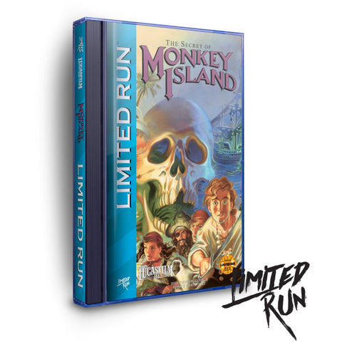 The Secret Of Monkey Island - Classic Edition [Sega CD]