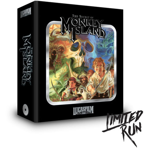The Secret Of Monkey Island - Premium Edition [Sega CD]