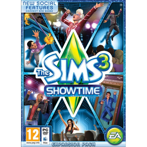 The Sims 3: Showtime Expansion Pack [Mac & PC]