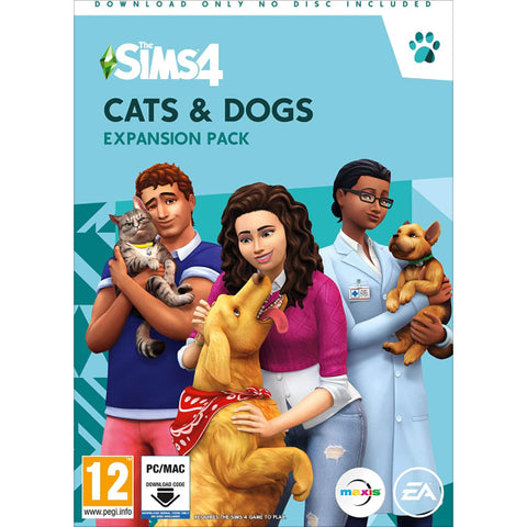 The Sims 4 : Cats & Dogs Expansion Pack [Mac & PC]