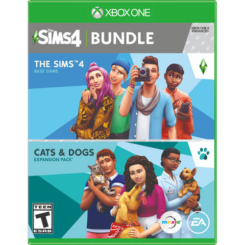 The Sims 4 Plus Cats & Dogs Bundle [Xbox One]