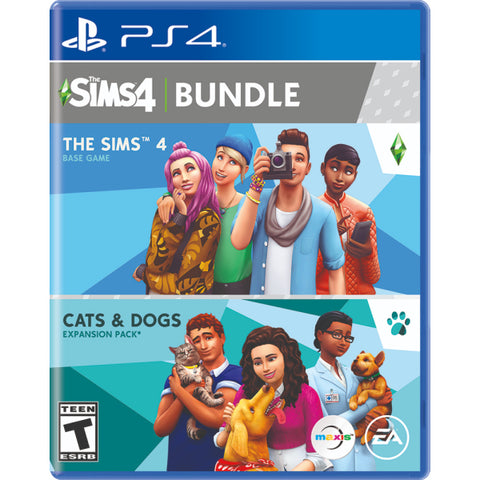 The Sims 4 Plus Cats & Dogs Bundle [PlayStation 4]