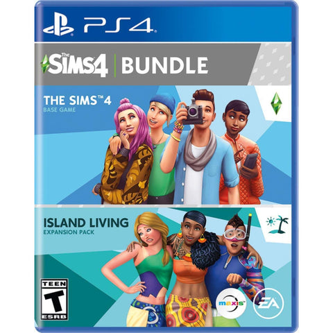 The Sims 4 Plus Island Living Bundle [PlayStation 4]