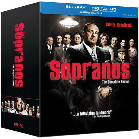 The Sopranos: The Complete Series - Seasons 1-6 [Blu-Ray Box Set]