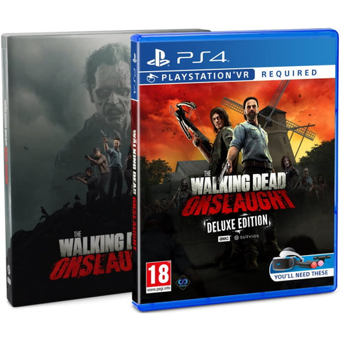 The Walking Dead: Onslaught - Survivor Edition - PSVR [PlayStation 4]