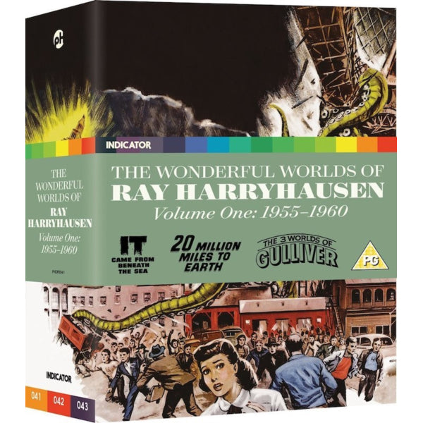 The Wonderful Worlds of Ray Harryhausen: Volume One: 1955-1960 - Limited Edition [Blu-Ray Box Set]