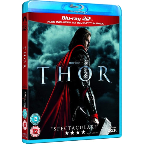 Marvel's Thor [3D + 2D Blu-Ray]