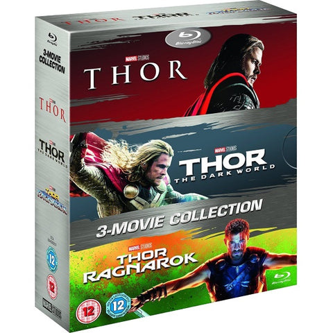 Marvel's Thor + The Dark World + Ragnarok [Blu-ray 3-Movie Collection]