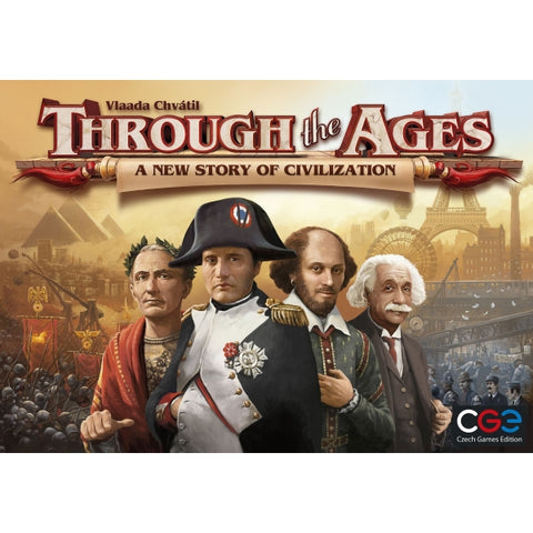 Through the Ages: A New Story of Civilization [Board Game, 2-4 Players]